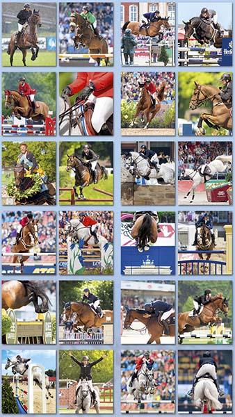 BOISELLE カレンダー2019 Sports Show Jumping (ショージャンピング)